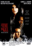 A Time to Kill - Australian DVD movie cover (xs thumbnail)
