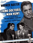 Crime Doctor's Man Hunt - British Movie Poster (xs thumbnail)