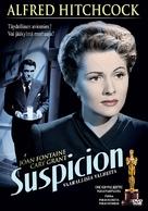 Suspicion - Finnish DVD movie cover (xs thumbnail)