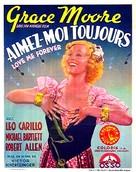 Love Me Forever - Belgian Movie Poster (xs thumbnail)