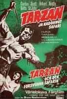 Tarzan and the Lost Safari - Finnish Movie Poster (xs thumbnail)