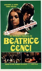Beatrice Cenci - Spanish Movie Poster (xs thumbnail)