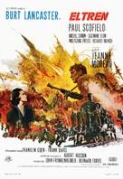 The Train - Spanish Movie Poster (xs thumbnail)