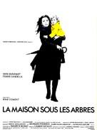 La maison sous les arbres - French Movie Poster (xs thumbnail)