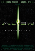 Alien: Resurrection - Italian Movie Poster (xs thumbnail)