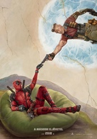 Deadpool 2 - Hungarian Movie Poster (xs thumbnail)