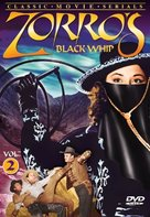 Zorro's Black Whip - DVD cover (xs thumbnail)