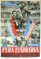 The Four Feathers - Swedish Movie Poster (xs thumbnail)