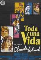 Toute une vie - Spanish Movie Poster (xs thumbnail)