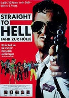 Straight to Hell - German Movie Poster (xs thumbnail)