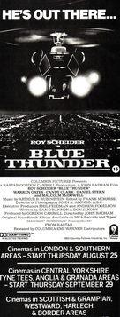 Blue Thunder - British Movie Poster (xs thumbnail)