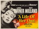 A Life of Her Own - British Movie Poster (xs thumbnail)