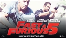 Fast Five - Danish Movie Poster (xs thumbnail)