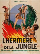 Daughter of the Jungle - French Movie Poster (xs thumbnail)