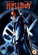 Hellboy - British DVD movie cover (xs thumbnail)