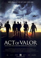Act of Valor - German Movie Poster (xs thumbnail)