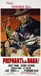 Preparati la bara! - Italian Movie Poster (xs thumbnail)