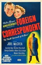 Foreign Correspondent - Australian Movie Poster (xs thumbnail)
