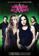 Vampire Academy - DVD cover (xs thumbnail)