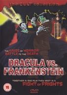 Dracula Vs. Frankenstein - British DVD movie cover (xs thumbnail)