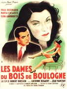Dames du Bois de Boulogne, Les - French Movie Poster (xs thumbnail)
