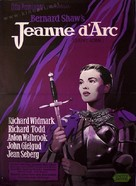 Saint Joan - Danish Movie Poster (xs thumbnail)
