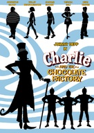 Charlie and the Chocolate Factory - DVD cover (xs thumbnail)