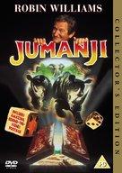 Jumanji - British DVD movie cover (xs thumbnail)