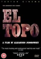 El topo - British DVD movie cover (xs thumbnail)