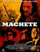 Machete - Hungarian Movie Poster (xs thumbnail)