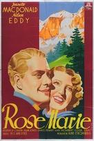 Rose-Marie - German Movie Poster (xs thumbnail)
