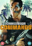 Commando - British DVD movie cover (xs thumbnail)