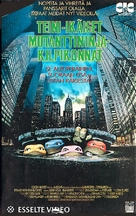 Teenage Mutant Ninja Turtles - Finnish VHS movie cover (xs thumbnail)
