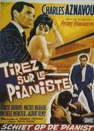 Tirez sur le pianiste - Belgian Movie Poster (xs thumbnail)