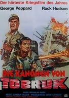 Tobruk - German Movie Poster (xs thumbnail)