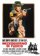 High Noon - Italian Movie Poster (xs thumbnail)