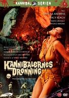 La montagna del dio cannibale - Danish Movie Poster (xs thumbnail)