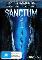 Sanctum - Australian DVD cover (xs thumbnail)