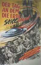 The Day the Earth Stood Still - German Movie Poster (xs thumbnail)