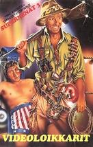 Einsteiger, Die - Finnish VHS movie cover (xs thumbnail)