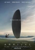 Arrival - German Movie Poster (xs thumbnail)
