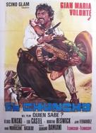 Quién sabe? - Italian Movie Poster (xs thumbnail)