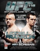 UFC 115: Liddell vs. Franklin - Canadian Movie Poster (xs thumbnail)