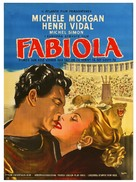 Fabiola - Danish Movie Poster (xs thumbnail)