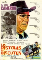 Le pistole non discutono - Spanish Movie Poster (xs thumbnail)
