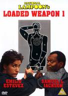 Loaded Weapon - British DVD movie cover (xs thumbnail)