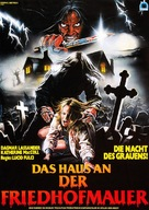 Quella villa accanto al cimitero - German Movie Poster (xs thumbnail)