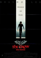 The Crow - German Movie Poster (xs thumbnail)