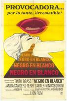 Nerosubianco - Spanish Movie Poster (xs thumbnail)