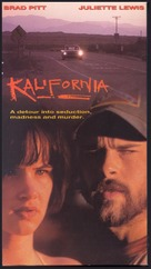 Kalifornia - VHS movie cover (xs thumbnail)